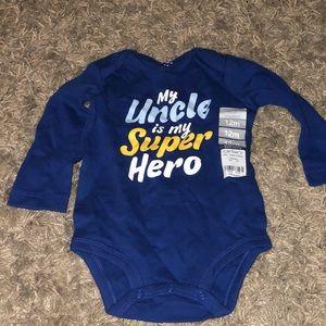 Uncle bodysuit